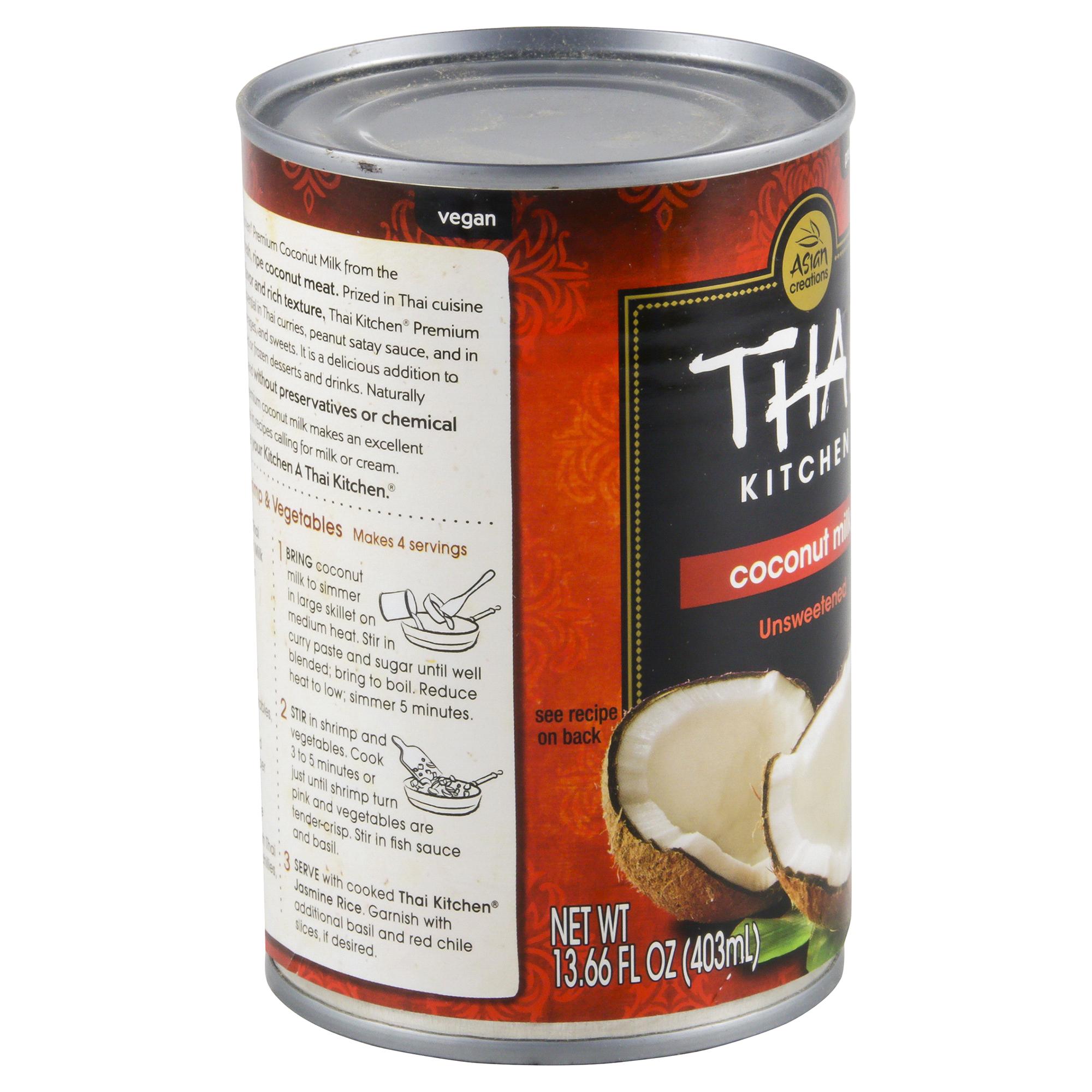 Thai Kitchen Coconut Milk Thai Kitchen Unsweetened Coconut Milk 13.66 Oz  Meijer