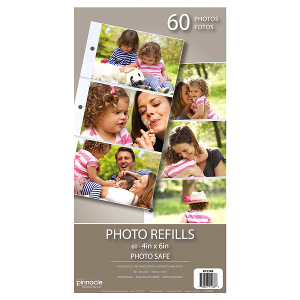 Pinnacle 3 Up Photo Album Refill Meijercom