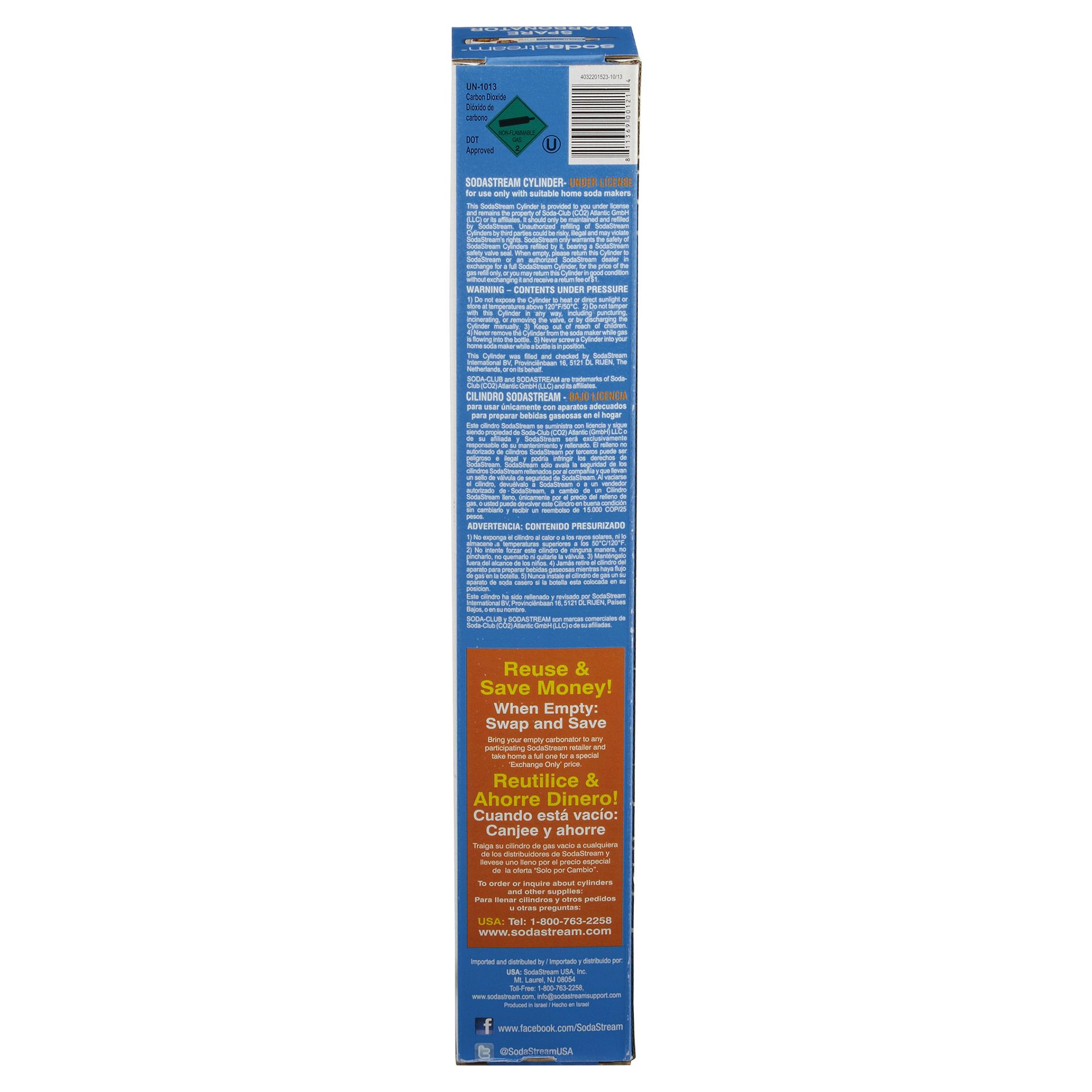 SodaStream CO2 Spare Carbonator - 60ML | Meijer.com