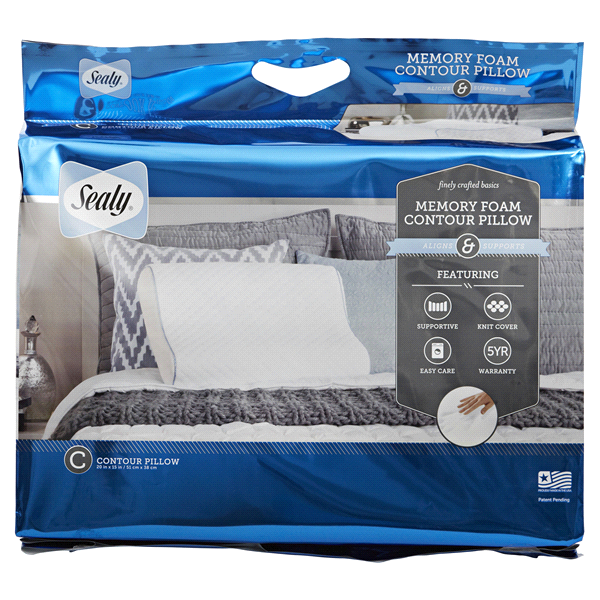 sealy memory foam contour pillow - Tempurpedic Pillows