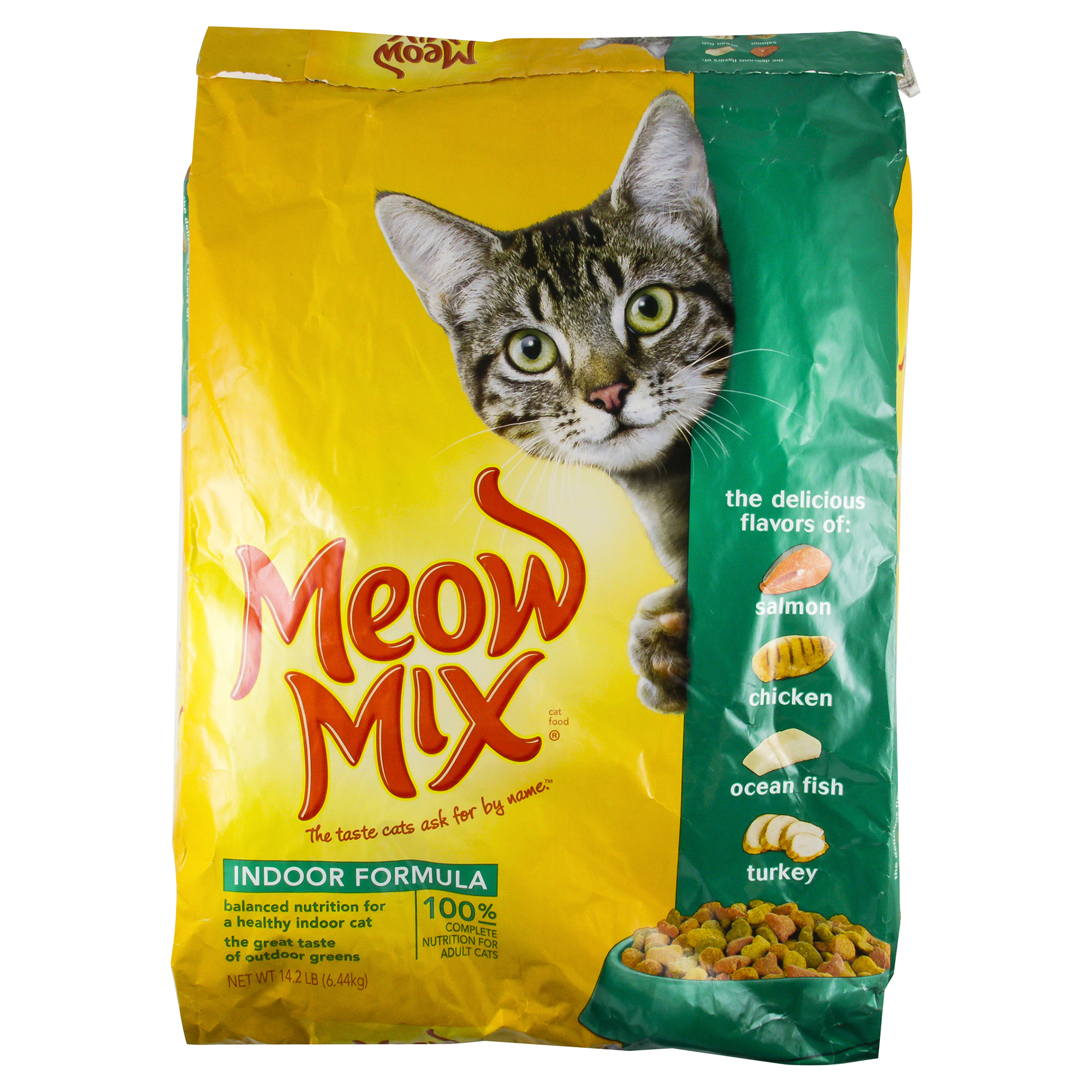 Meow Mix Dry Cat Food Indoor Formula 14 2 lb