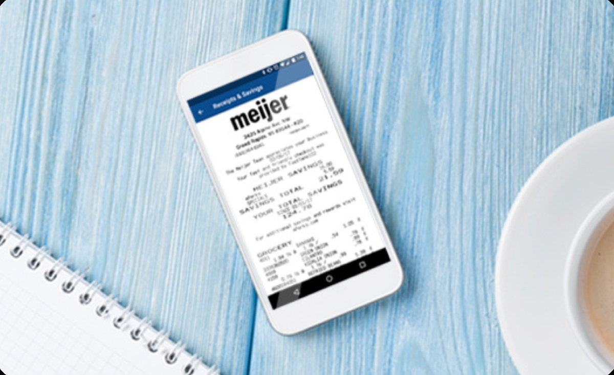 Meijer mPerks - Track Every Penny You Save and Review Your Purchases and Savings Anytime!
