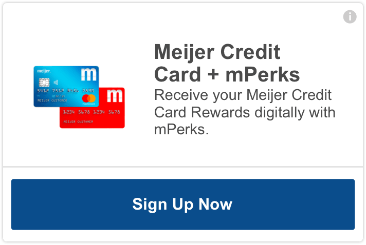meijer mperks credit card - receive your meijer credit card rewards digitally with mperks.