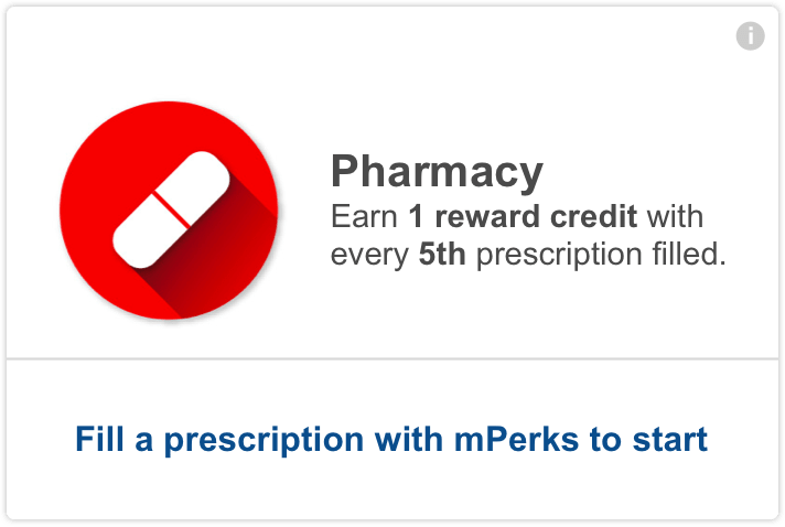 meijer mperks - fill a prescription at the pharmacy and we'll keep track of your credits.