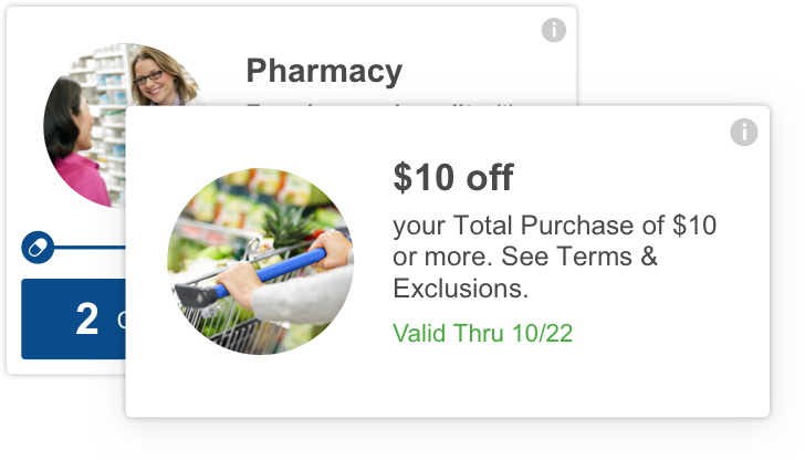 meijer mperks - $10 off your total purchase of $10 or more.